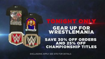 WWE Shop TV Spot, 'Join the Universe: Wrestlemania Gear' Song by Krissie Karlsson - Thumbnail 6