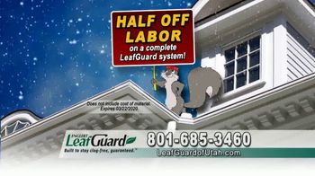 LeafGuard of Utah Winter Half Off Sale TV Spot, 'Ladder-Related Accidents' - Thumbnail 7
