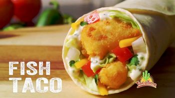 TacoTime Fish Taco TV Spot, 'Real Food. Real Fast'