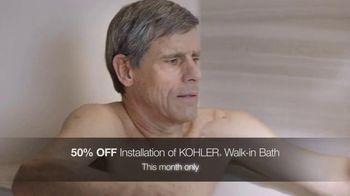Kohler TV Spot, 'Walk-In Bath: 50 Percent Off Installation' - Thumbnail 5