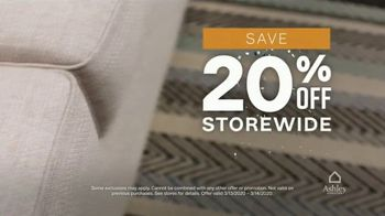 Ashley HomeStore 75th Anniversary Sale TV Spot, '20% Off Storewide' Song by Midnight Riot - Thumbnail 5