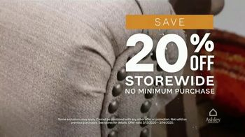 Ashley HomeStore 75th Anniversary Sale TV Spot, '20% Off Storewide' Song by Midnight Riot - Thumbnail 6