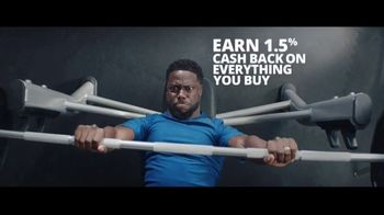 Chase Freedom Unlimited Card TV Spot, 'With Freedom Unlimited, You're Always Earning With Online Purchases' Featuring Kevin Hart - Thumbnail 7