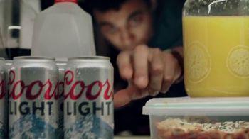 Coors Light TV Spot, 'Friday Night Power Naps' - Thumbnail 5