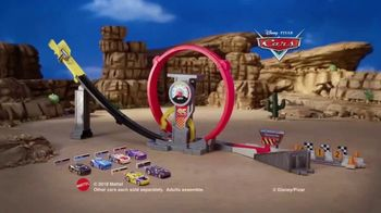 Disney Pixar Cars XRS Rocket Racing Super Loop Race Set TV Spot, 'Record Speeds' - Thumbnail 9
