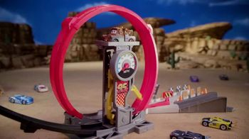 Disney Pixar Cars XRS Rocket Racing Super Loop Race Set TV Spot, 'Record Speeds' - Thumbnail 6