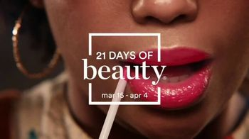 Ulta 21 Days of Beauty TV Spot, 'Daily Beauty Steals' Song by Kali J, Chris Prythm, PUSH.Audio - Thumbnail 5