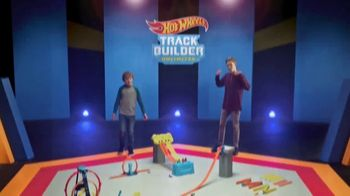 Hot Wheels Track Builder Unlimited TV Spot, 'Build and Boost' Featuring Tanner Fox - Thumbnail 1
