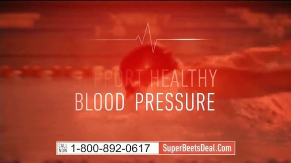Superbeets Tv Commercial Support You Want Featuring