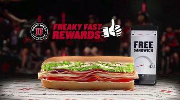 Jimmy John's TV Spot, 'Freaky Fast Rewards: Spin' - Thumbnail 6