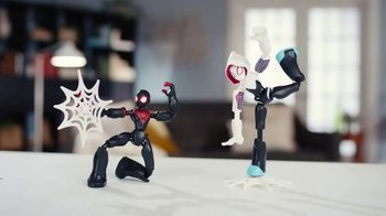 Marvel Spider-Man & Avengers Bend and Flex Figures TV Spot, 'Freeze'