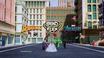Marvel Spider-Man & Avengers Bend and Flex Figures TV Spot, 'Freeze' - Thumbnail 1