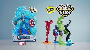 Marvel Spider-Man & Avengers Bend and Flex Figures TV Spot, 'Freeze' - Thumbnail 9