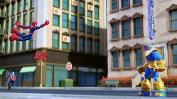 Marvel Spider-Man & Avengers Bend and Flex Figures TV Spot, 'Freeze' - Thumbnail 2
