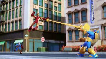 Marvel Spider-Man & Avengers Bend and Flex Figures TV Spot, 'Freeze' - Thumbnail 3