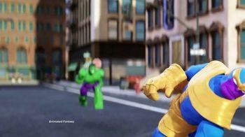 Marvel Spider-Man & Avengers Bend and Flex Figures TV Spot, 'Freeze' - Thumbnail 5