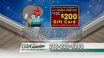 LeafGuard of Cleveland Winter Half Off Sale TV Spot, 'Final Days: 15 Years in a Row' - Thumbnail 6