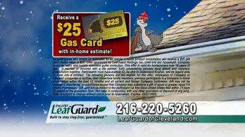 LeafGuard of Cleveland Winter Half Off Sale TV Spot, 'Final Days: Completely New System' - Thumbnail 7