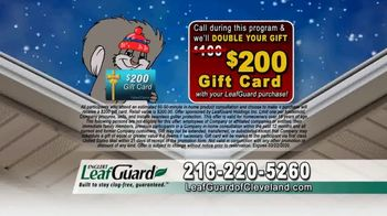 LeafGuard of Cleveland Winter Half Off Sale TV Spot, 'Final Days: Completely New System' - Thumbnail 8