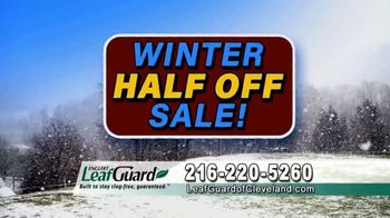 LeafGuard of Cleveland Winter Half Off Sale TV Spot, 'Final Days: Bare Tree Branches' - Thumbnail 9