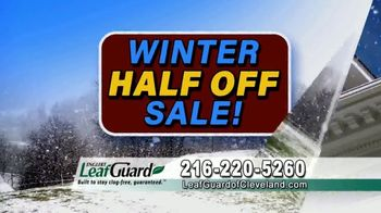 LeafGuard of Cleveland Winter Half Off Sale TV Spot, 'Final Days: Bare Tree Branches' - Thumbnail 5