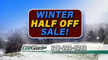 LeafGuard of Cleveland Winter Half Off Sale TV Spot, 'Final Days: Water Damage Protection' - Thumbnail 4