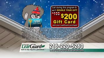 LeafGuard of Cleveland Winter Half Off Sale TV Spot, 'Final Days: Water Damage Protection' - Thumbnail 6