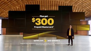 Sprint TV Spot, 'Unlimited Plan and $300 Prepaid Mastercard' - Thumbnail 3
