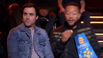 Lay's Poppables TV Spot, 'NBC: Favorite Voice Coach' Featuring John Legend - 1 commercial airings