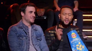 Lay's Poppables TV Spot, 'NBC: Favorite Voice Coach' Featuring John Legend - Thumbnail 4