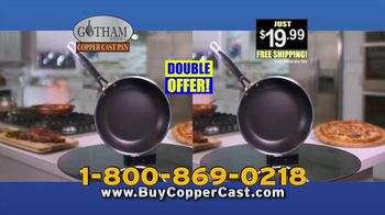 Gotham Steel Copper Cast Pan TV Spot, 'Lighter Than Cast Iron' - Thumbnail 10