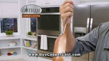 Gotham Steel Copper Cast Pan TV Spot, 'Lighter Than Cast Iron' - Thumbnail 2
