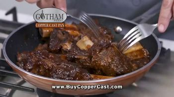 Gotham Steel Copper Cast Pan TV Spot, 'Lighter Than Cast Iron' - Thumbnail 6