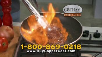 Gotham Steel Copper Cast Pan TV Spot, 'Lighter Than Cast Iron' - Thumbnail 9