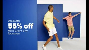 Belk Anniversary Sale TV Spot, 'Towels, Men's Wear and Dresses'