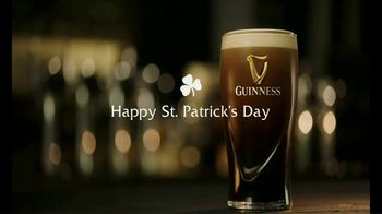 Guinness TV Spot, \'A St. Patrick's Day Message From Guinness\'