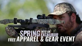 Excalibur Crossbow Spring Into Excalibur TV Spot, 'Up to $150 in Free Apparel & Gear' - Thumbnail 5