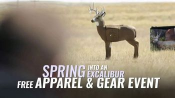 Excalibur Crossbow Spring Into Excalibur TV Spot, 'Up to $150 in Free Apparel & Gear' - Thumbnail 6