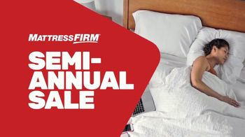 Mattress Firm Semi-Annual Sale TV Spot, 'Save Up to $400: Free Adjustable Base' - Thumbnail 1