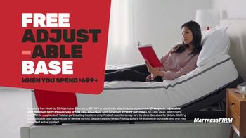 Mattress Firm Semi-Annual Sale TV Spot, 'Save Up to $400: Free Adjustable Base' - Thumbnail 4