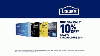 Lowe's TV Spot, 'Sanctuary: Cardholders Get 10 Percent Off' - Thumbnail 9