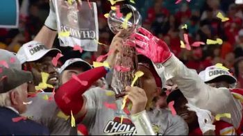 NFL Shop TV Spot, 'Super Bowl LIV Champions: Kansas City Chiefs' - Thumbnail 9