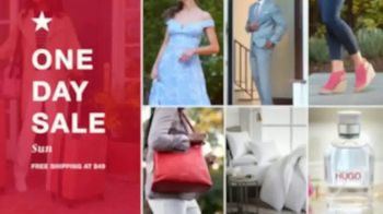 Macy's One Day Sale TV Spot, 'Comforters, Cookware & Luggage' - Thumbnail 1