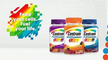 Centrum MultiGummies TV Spot, 'Feed Your Cells, Fuel Your Life' - Thumbnail 9