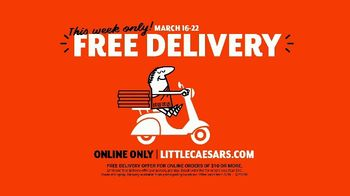 Little Caesars Pizza TV Spot, 'Doorbell: Free Delivery' - Thumbnail 8