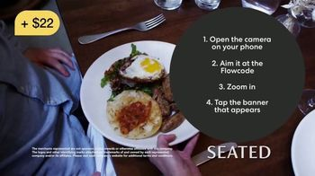 Seated TV Spot, 'Pays You to Eat Out' - Thumbnail 3
