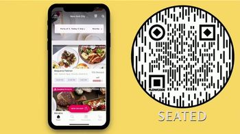 Seated TV Spot, 'Pays You to Eat Out' - Thumbnail 7