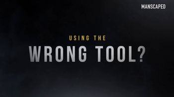 Manscaped Lawn Mower 3.0 TV Spot, 'Wrong Tool' - Thumbnail 1