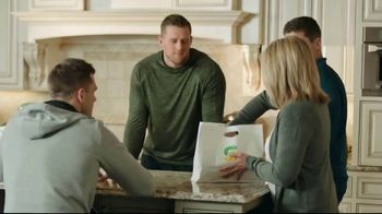 Subway Footlong TV Spot, \'Everyone Has Their Favorite\' Featuring J.J. Watt, T.J. Watt, Derek Watt