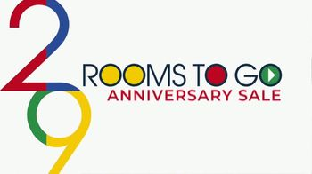 Rooms to Go Anniversary Sale TV Spot, 'Five Piece Living Room' Song by Junior Senior - Thumbnail 2